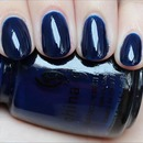 China Glaze Calypso Blue
