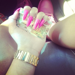 ❤ My new nails