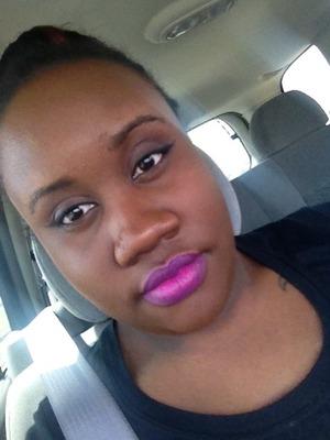 Winged Liner plus Heroin Lipstick