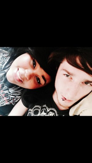 I love him so much ^-^ best friends and now we're finally together! <3