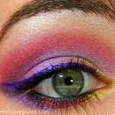 Pink, Gold and Purple