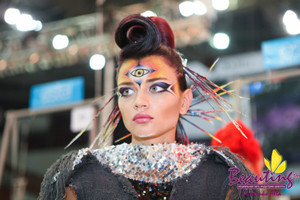 My work at the International Makeup Contest Nevskie Berega in Saint Petersburg