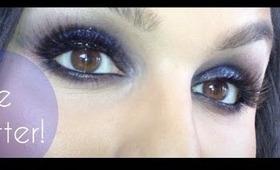 Some Blue Glitter Madness/Fabulousness!