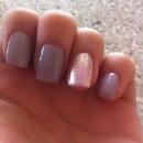 spring mushroom nails