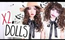 Porcelain & Dead Dolls Hair Makeup Halloween Tutorial | Cerinebabyyish