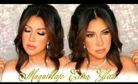 Maquillaje EXTRA GLAM  para SAN VALENTIN | auroramakeup