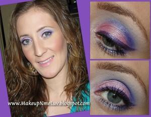 Pink / Purple Eyes
