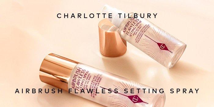 Shop Charlotte Tilbury's Airbrush Flawless Setting Spray on Beautylish.com