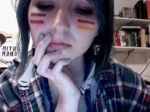 post punk native american rocker.
