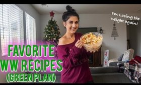 My Favorite WW Recipes (green plan)