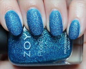 From the Summer PixieDust Collection. Click here for my in-depth review and more swatches: http://www.swatchandlearn.com/zoya-liberty-swatches-review/