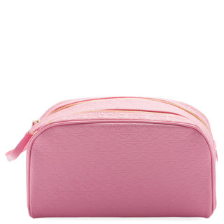 Shane Dawson Double Zip Makeup Bag Pink