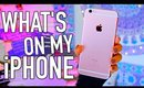 What's on my iPhone 6s Plus Rose Gold