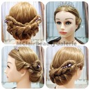 Queen Elizabeth II Inspired Hair Updo