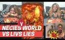Part 2: Liv's Life vs Necie World