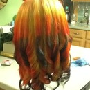 Rainbow ombre. My little pony inspired