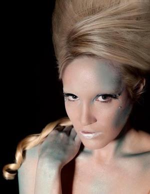 Make Up Artist : Myself Model : Jenn Photographer : Couture Portraiture