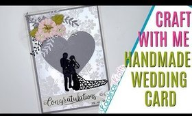Wedding Card Craft With Me & Project Share, DAY 4 of 14 Days of Crafty Valentines Day