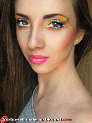 More pictures here: http://trustmyself-make-up.blogspot.com/2012/07/lime-crime-once-again.html