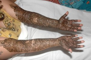 My wedding mehendi