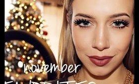 November FAVORITES | Makeup + Skincare !