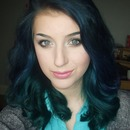 Blue & Teal Soft Curls