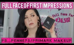 Full Face of First Impressions: Penneys/Primark PS... Makeup