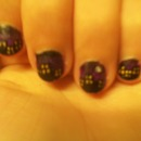 City Scape Nail-Art