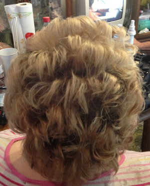 VERY Short hair up-do Bridal Looks By Christy Farabaugh
