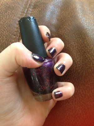 This is the best nail polish ever! It's opi merry midnight definitely pick it up✌️