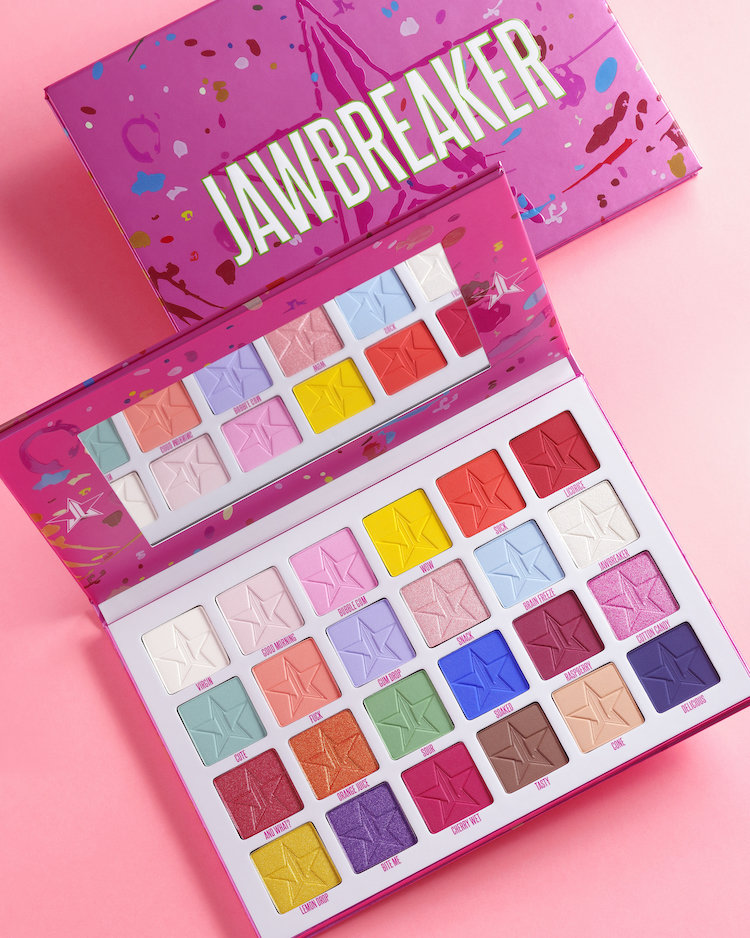 Alternate product image for Jawbreaker Eyeshadow Palette shown with the description.