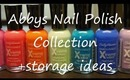 Nail Polish Collection and Storage Ideas