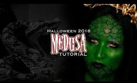 HALLOWEEN 2016 l 🎃l MEDUSA TUTORIAL l🐍l