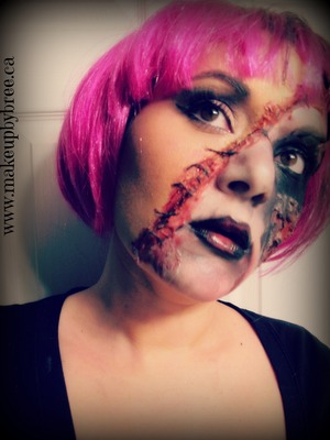 Here is a Zombie Fairy look I created. To find out how to recreate it, click here: http://www.youtube.com/watch?v=60t1KosxZqI