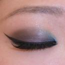 modern twist to classic smokey eye by Jena Huang
