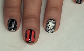 Black Ops II Nail Tutorial