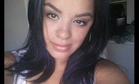 Makeup Tutorial Using SmashBox Full Exposure Palette