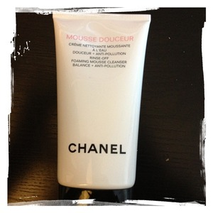 My favorite facial cleanser at the moment- gentle, gets all my makeup off, and lasts a long time!