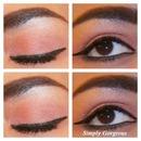FOTD: Shimmery Eyes & Red Lips