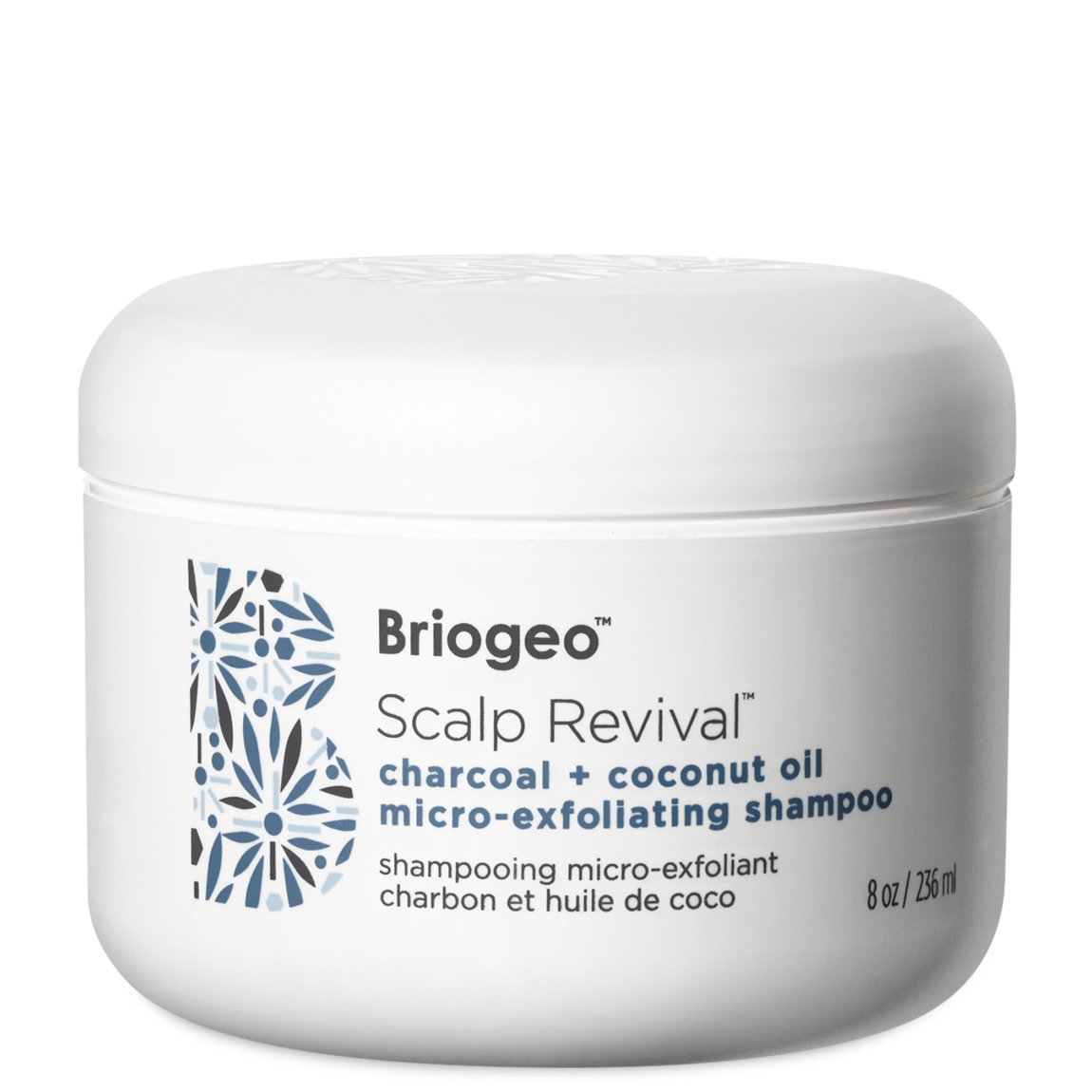 Briogeo Scalp Revival Charcoal + Coconut Oil Micro-Exfoliating Shampoo 8 oz alternative view 1 - product swatch.