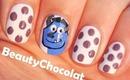 Monster Inc. Nail Art Tutorial ♥ Cute Nail Design