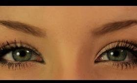 ♥ Big, Beautiful Lashes! | Half False Eyelashes  ♥