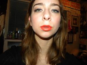 Mac Lipstick in Morange!