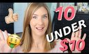10 Beauty Finds Under $10 | Affordable Beauty Products You'll LOVE!