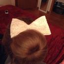 Bun with a hair donut