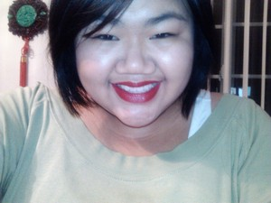 Flash ruined the quality. Besides that, my fave sephora lipstick color <3