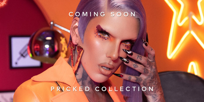 Jeffree Star Cosmetics Pricked Collection is arriving soon. Sign up here for notifications!