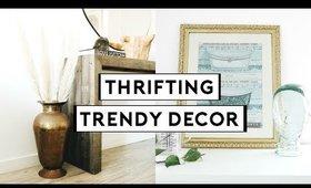 THRIFTING TRENDY HOME DECOR! DIY THRIFT FLIP + UPCYCLE   Nastazsa