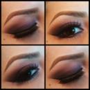 Purple smokey eyes:-)