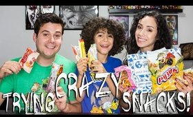 Trying Out Crazy Russian Treats!! || Universal Yums Unboxing